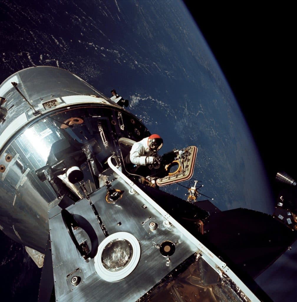 Apollo 9 Crew Spacewalk